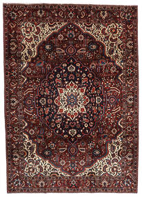 Bakhtiar Alfombra 214X303 Oriental Hecha A Mano Rojo Oscuro/Marrón Oscuro (Lana, Persia/Irán)