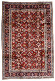 Keshan Alfombra 192X283 Oriental Hecha A Mano Rojo Oscuro/Marrón Oscuro (Lana, Persia/Irán)