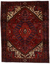 Heriz Alfombra 260X334 Oriental Hecha A Mano Rojo Oscuro Grande (Lana, Persia/Irán)