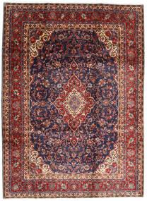 Hamadan Shahrbaf Alfombra 220X298 Oriental Hecha A Mano Rojo Oscuro/Púrpura Oscuro (Lana, Persia/Irán)