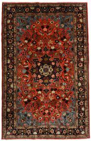 Mehraban Alfombra 188X290 Oriental Hecha A Mano Rojo Oscuro/Óxido/Roja (Lana, Persia/Irán)