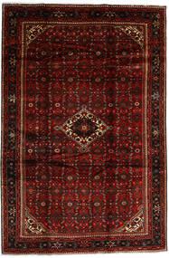 Hosseinabad Alfombra 208X310 Oriental Hecha A Mano Rojo Oscuro (Lana, Persia/Irán)