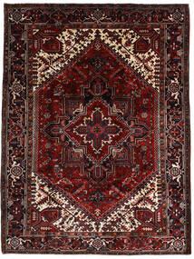 Heriz Alfombra 206X270 Oriental Hecha A Mano Rojo Oscuro (Lana, Persia/Irán)