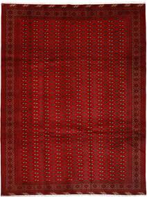 Turkaman Alfombra 252X337 Oriental Hecha A Mano Roja/Óxido/Roja Grande (Lana, Persia/Irán)