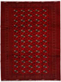 Turkaman Alfombra 258X344 Oriental Hecha A Mano Roja/Rojo Oscuro/Marrón Oscuro Grande (Lana, Persia/Irán)