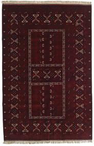 Kunduz Alfombra 155X238 Oriental Hecha A Mano Rojo Oscuro (Lana, Afganistán)