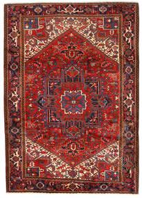Heriz Alfombra 243X330 Oriental Hecha A Mano Rojo Oscuro/Óxido/Roja (Lana, Persia/Irán)