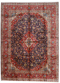 Keshan Alfombra 296X400 Oriental Hecha A Mano Rojo Oscuro/Púrpura Oscuro Grande (Lana, Persia/Irán)