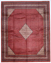 Sarough Mir Alfombra 307X386 Oriental Hecha A Mano Grande (Lana, Persia/Irán)