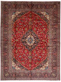Keshan Alfombra 294X396 Oriental Hecha A Mano Rojo Oscuro/Marrón Oscuro Grande (Lana, Persia/Irán)