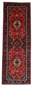 Hamadan Alfombra 112X314 Oriental Hecha A Mano Rojo Oscuro/Óxido/Roja (Lana, Persia/Irán)