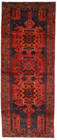 Hamadan Alfombra 112X289 Oriental Hecha A Mano Rojo Oscuro/Marrón Oscuro (Lana, Persia/Irán)