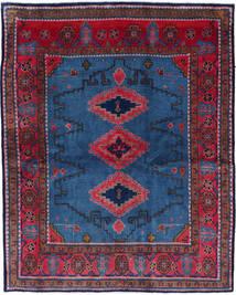 Wiss Alfombra 180X228 Oriental Hecha A Mano Azul Oscuro/Negro (Lana, Persia/Irán)