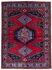 Wiss Alfombra 157X211 Oriental Hecha A Mano Rojo Oscuro/Púrpura Oscuro (Lana, Persia/Irán)