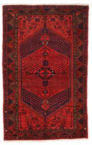 Zanjan Alfombra 126X205 Oriental Hecha A Mano Rojo Oscuro/Marrón Oscuro/Óxido/Roja (Lana, Persia/Irán)