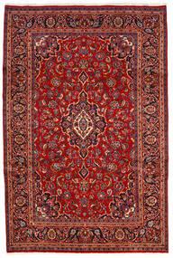 Keshan Alfombra 200X300 Oriental Hecha A Mano Rojo Oscuro/Óxido/Roja (Lana, Persia/Irán)