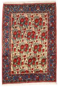 Afshar Alfombra 164X235 Oriental Hecha A Mano Rojo Oscuro/Negro (Lana, Persia/Irán)