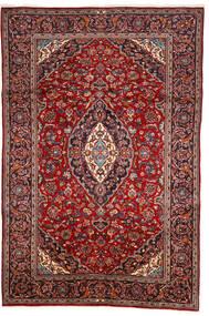 Keshan Alfombra 200X303 Oriental Hecha A Mano Rojo Oscuro/Marrón (Lana, Persia/Irán)