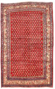 Arak Alfombra 125X205 Oriental Hecha A Mano Rojo Oscuro/Roja (Lana, Persia/Irán)