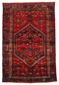 Zanjan Alfombra 133X203 Oriental Hecha A Mano Rojo Oscuro/Marrón Oscuro/Óxido/Roja (Lana, Persia/Irán)