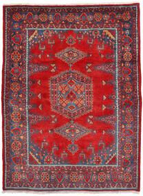 Wiss Alfombra 160X222 Oriental Hecha A Mano Óxido/Roja/Rojo Oscuro (Lana, Persia/Irán)