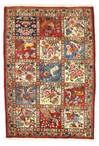 Bakhtiar Collectible Alfombra 110X157 Oriental Hecha A Mano Gris Oscuro/Beige (Lana, Persia/Irán)