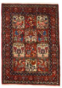 Bakhtiar Collectible Alfombra 106X150 Oriental Hecha A Mano Marrón Oscuro/Rojo Oscuro (Lana, Persia/Irán)