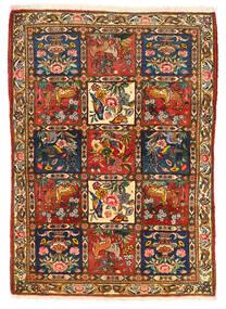 Bakhtiar Collectible Alfombra 115X155 Oriental Hecha A Mano Marrón Oscuro/Roja (Lana, Persia/Irán)