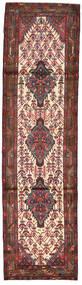 Hamadan Alfombra 83X307 Oriental Hecha A Mano Rojo Oscuro/Marrón Oscuro (Lana, Persia/Irán)