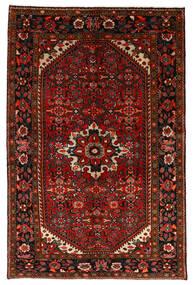 Hosseinabad Alfombra 147X225 Oriental Hecha A Mano Rojo Oscuro/Óxido/Roja (Lana, Persia/Irán)