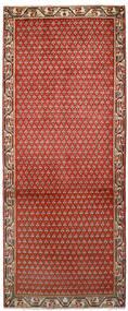 Sarough Mir Alfombra 79X197 Oriental Hecha A Mano Óxido/Roja/Marrón Oscuro (Lana, Persia/Irán)