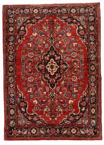 Mehraban Alfombra 149X208 Oriental Hecha A Mano Rojo Oscuro/Marrón Oscuro (Lana, Persia/Irán)