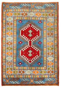 Turkaman Alfombra 57X60 Oriental Hecha A Mano Cuadrada Gris Oscuro/Beige Oscuro (Lana, Persia/Irán)