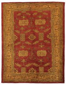 Oriental Overdyed Alfombra 144X183 Moderna Hecha A Mano Marrón Oscuro/Rojo Oscuro/Beige (Lana, Persia/Irán)