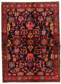 Lillian Alfombra 146X200 Oriental Hecha A Mano Marrón Oscuro/Rojo Oscuro (Lana, Persia/Irán)