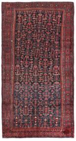 Kurdi Alfombra 147X275 Oriental Hecha A Mano Rojo Oscuro/Azul Oscuro (Lana, Persia/Irán)