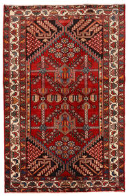 Rudbar Alfombra 130X200 Oriental Hecha A Mano Rojo Oscuro/Óxido/Roja (Lana, Persia/Irán)