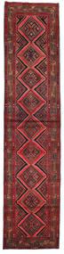 Asadabad Alfombra 80X353 Oriental Hecha A Mano Rojo Oscuro (Lana, Persia/Irán)