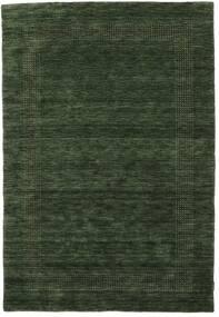 Handloom Gabba - Verde Hierba Alfombra 160X230 Moderna Verde Oscuro (Lana, India)