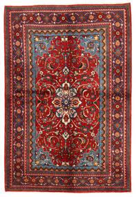 Zanjan Alfombra 156X292 Oriental Hecha A Mano Rojo Oscuro/Óxido/Roja (Lana, Persia/Irán)