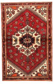 Rudbar Alfombra 100X159 Oriental Hecha A Mano Rojo Oscuro/Óxido/Roja (Lana, Persia/Irán)