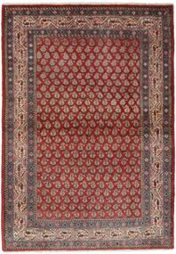 Sarough Mir Alfombra 106X158 Oriental Hecha A Mano Marrón Oscuro/Negro (Lana, Persia/Irán)