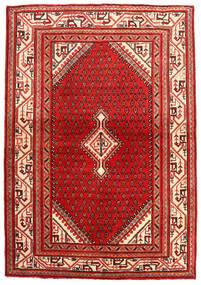 Sarough Alfombra 108X159 Oriental Hecha A Mano Rojo Oscuro/Óxido/Roja (Lana, Persia/Irán)