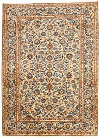 Najafabad Alfombra 203X278 Oriental Hecha A Mano Beige/Negro (Lana, Persia/Irán)