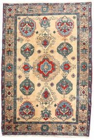 Ardabil Alfombra 114X168 Oriental Hecha A Mano Beige/Marrón Claro (Lana, Persia/Irán)