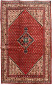 Sarough Mir Alfombra 128X210 Oriental Hecha A Mano Rojo Oscuro/Óxido/Roja (Lana, Persia/Irán)
