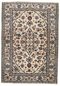 Keshan Alfombra 103X146 Oriental Hecha A Mano Beige/Negro/Gris Claro (Lana, Persia/Irán)