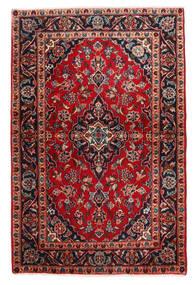 Keshan Alfombra 98X148 Oriental Hecha A Mano Marrón Oscuro/Rojo Oscuro (Lana, Persia/Irán)