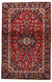 Keshan Alfombra 105X147 Oriental Hecha A Mano Rojo Oscuro/Púrpura Oscuro (Lana, Persia/Irán)