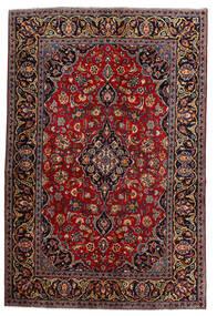 Keshan Alfombra 140X210 Oriental Hecha A Mano Rojo Oscuro (Lana, Persia/Irán)